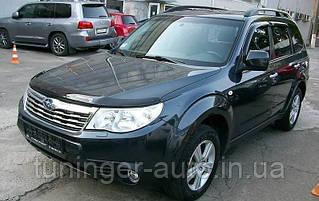 Мухобойка, дефлектор капота Subaru Forester 2008-2012 г.в. (EGR)