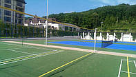 Бесшовные резиновые покрытия для волейбола и бадминтона