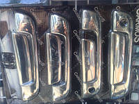 Хром-накладки на ручки BMW E-34