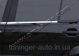 Молдинг стекла Mitsubishi Lanser 9 2003-2007