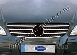 Хром-накладка на решетку радиатора Mercedes  Vito New 2003+