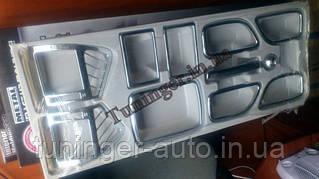 Хром декор на торпеду,хром накладки на панель Hyundai Sonata NF 2006-2010