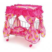 Кроватка MELOGO 9350 (HT) для кукол с балдахином