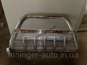 Защита переднего бампера. Кенгурятник Volkswagen Caddy 2003-2010