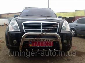Защитная дуга переднего бампера,кенгурятник Can Otomotiv Ssang Young Rexton 2 2006-2012