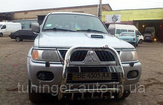 Кенгурятник Mitsubishi Pajero Sport 2000-2007