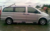 Рейлинги(продольные) ,багажник на крышу Mercedes VitoViano W-639 2004->