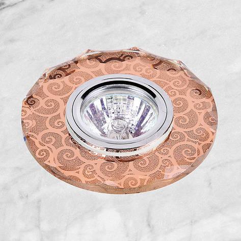 Точечный врезной светильник (16-В049), фото 2