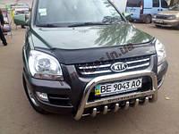Кенгурятник, защита бампера Kia Sportage 2006-2009