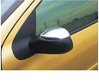 Накладки на зеркала Peugeot 206