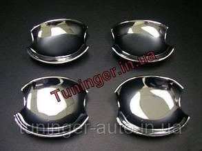 Хром накладки под ручки Mazda 6 (Mazda 3) 2002-2008