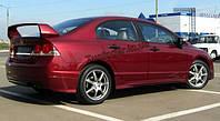 Спойлер на Honda Civic Sedan 2006-2011 (Mugen Style)