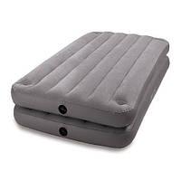 Велюровая кровать Intex 67743 (99х191х46 см)