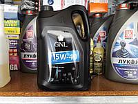 Минеральное моторное масло GNL Стандарт 15w40 (5 литров)