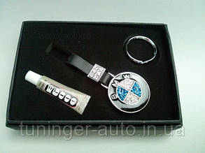 Брелок на ключи со стразами BMW