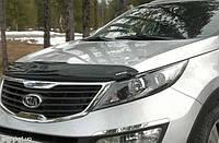 Мухобойка, дефлектор капота  Kia Sportage 2010-2015 (EGR), фото 1