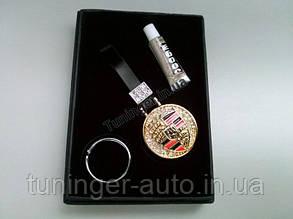 Брелок на ключи со стразами Porsche