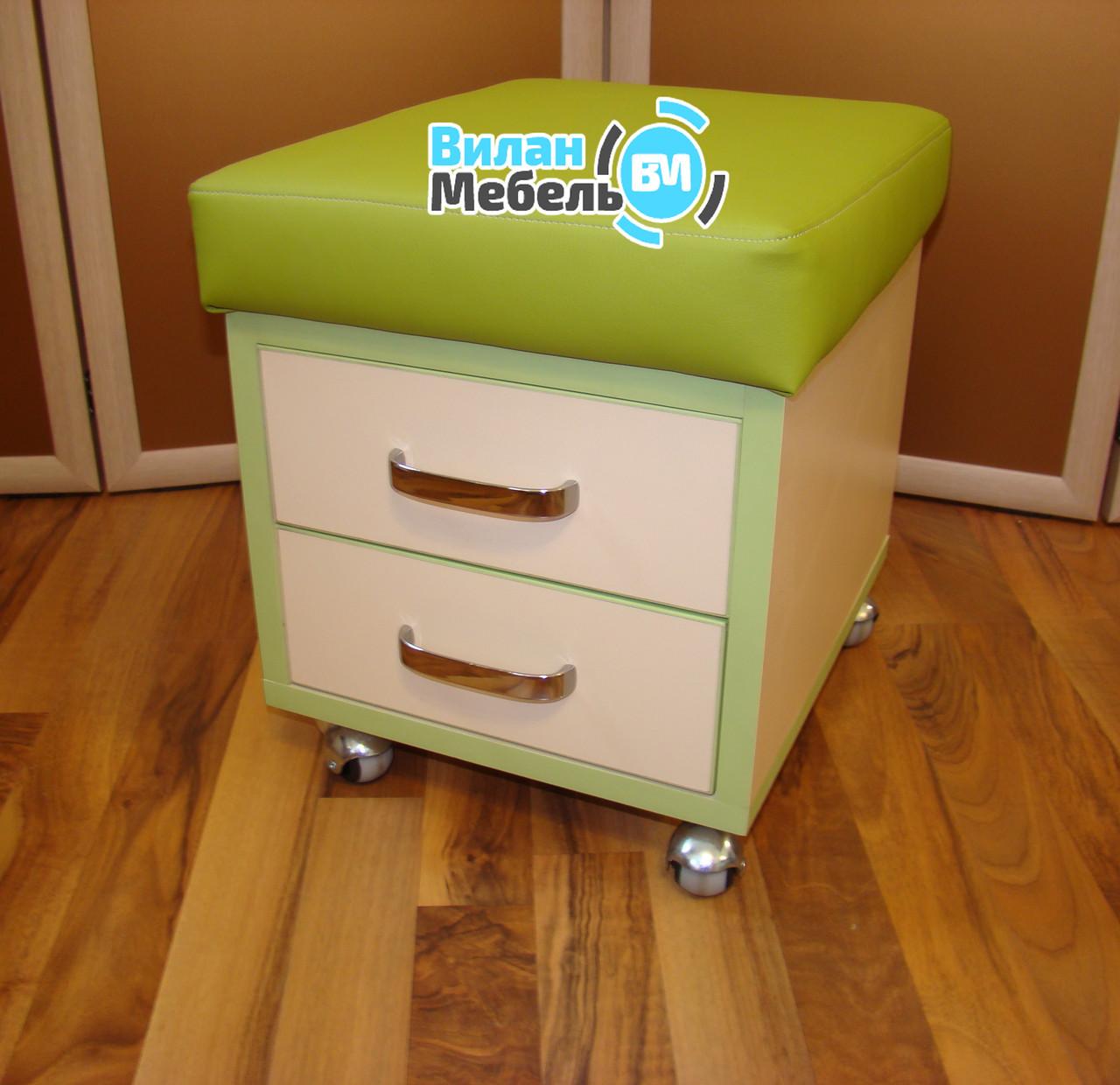 Пуф для мастера педикюра - Вилан-мебель в Киеве