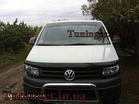 Мухобойка , дефлектор капота Volkswagen Transporter T5+ 2010+ (EGR)