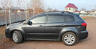 Ветровики, дефлектор окон Subaru Tribeca 2005-2014 г.в. (Hic)