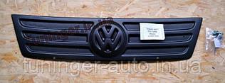 Зимняя накладка на решетку радиатора Volkswagen Caddy (Верх) 2003-2010гг.