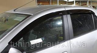 Ветровики, дефлекторы окон Renault Logan sedan 2012- (ANV)