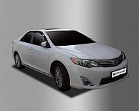 Ветровики, дефлекторы окон Toyota Camry V50 2011-2014 (Autoclover), фото 1