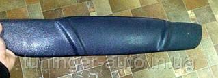 Зимняя накладка на решетку радиатора Deawoo Lanos Т-100 (Верх) 1997+