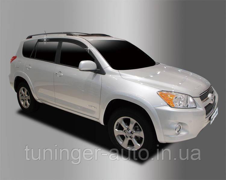 Ветровики, дефлекторы окон Toyota Rav 4 2006-2013  (Autoclover)