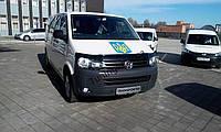 Мухобойка, дефлектор капота Volkswagen T-5+   2010> (Fly)