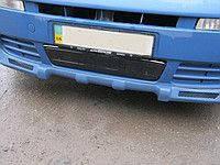 Зимняя накладка на решетку радиатора Opel Vivaro 2001-2006гг. низ.