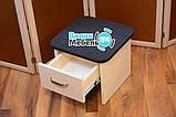 Подставка для педикюрной ванночки с выдвижным ящиком, фото 3