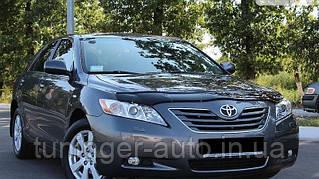 Мухобойка,дефлектор капота Toyota Camry 40 2007-2011 (Vip)