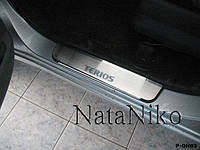 Накладки на пороги Daihatsu  Terios 2008- (Nata Niko)