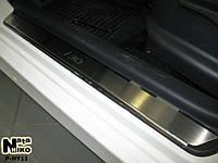 Накладки на пороги Hyundai I30 I 2007-2011 (Nata-Niko)
