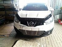 Решітка гриль в бампер Nissan Qashqai 2010-2014, фото 1
