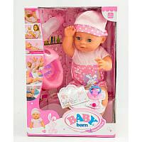 Интерактивный пупс Baby Born YL1710A, высота 42см, 6 функций, аксессуары, подарочная коробка, от 3 лет