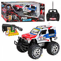 Машинка на радиоуправлении джип Ралли Марафон Limo Toy белый/красный