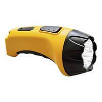 Фонарик аккумуляторный FERON TH2293 аккум.фонарь (TH93A)DC  желтый  4 LED