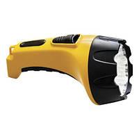 Фонарик аккумуляторный FERON TH2295 аккум.фонарь (TH93С)DC  желтый  15 LED