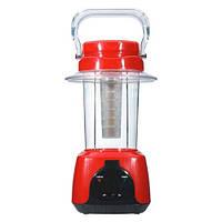 Фонарь аккумуляторный FERON TL5 аккум.фонарь 24 LED красный DC (см28.5*16*16)