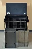 Коптильня окрашенная 520х300х280 с термометром