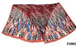 Леопардовый красный шарф, фото 2