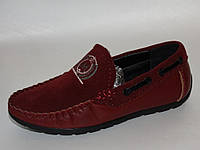 Детские мальчиковые школьные-туфли-мокасины от фирмы Paliament BP7127-2 (27 - 32)