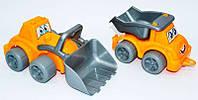 Машинка и трактор игрушечные Максик Строительная техника 0977 ТехноК