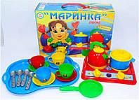 Посудка игрушечная Маринка 1554 ТехноК