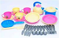 Посудка игрушечная Маринка 11 1653 ТехноК