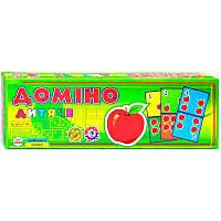 Настольная детская игра Домино Детское 2568 ТехноК