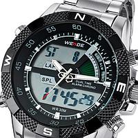 Мужские кварцевые наручные часы Weide Aqua Steel стиль спорт