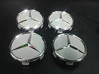 Mercedes С класс w203 Колпачки в оригинальные диски